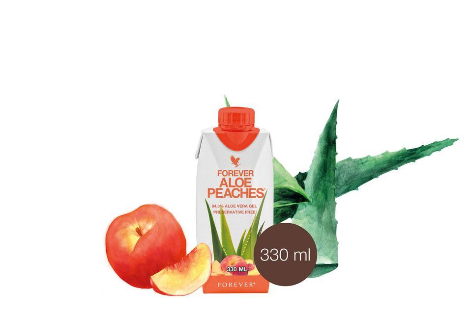 Boissons Mini Aloe Pêche 330 ML X 12 Réf. 77812
