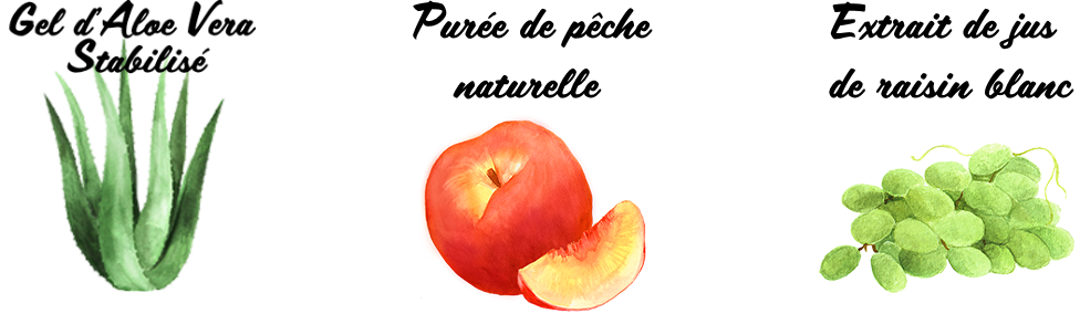 Forever Aloe Pêche Réf. 777