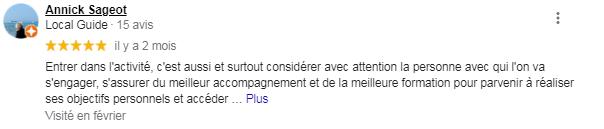 Avis6 Google Business, Reviews